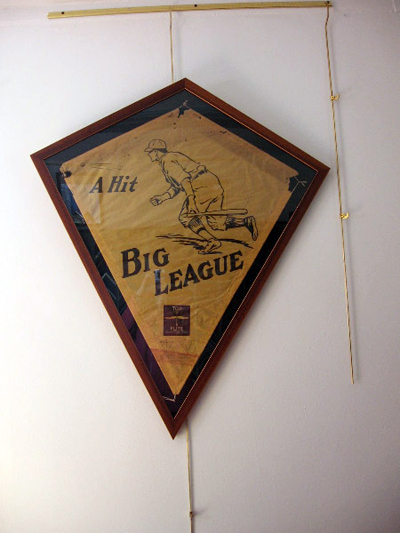 Kite shaped frame for Antique Kite