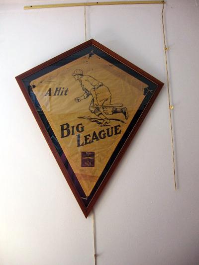 Kite shaped frame for Antique Kite