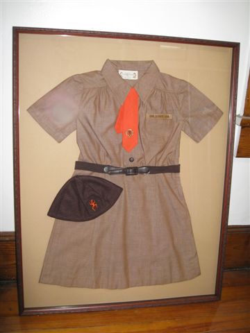 brownie uniform in shadowboxlg